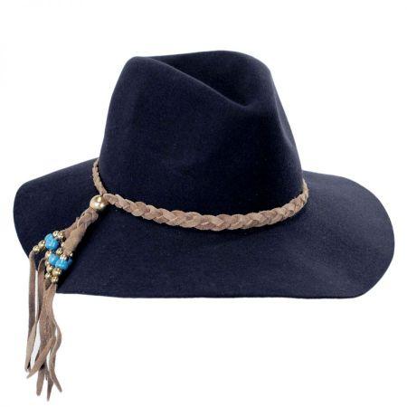 ale by Alessandra Gaucho Wool Felt Floppy Fedora Hat