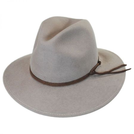 ale by Alessandra Aurora Wool Felt Safari Fedora Hat