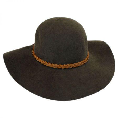 Earth Spirit Wool Felt Floppy Hat