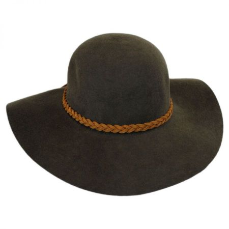 ale by Alessandra Earth Spirit Wool Felt Floppy Hat
