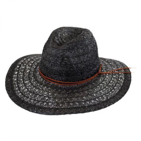 ale by Alessandra Prescott Toyo Straw Wide Brim Fedora Hat