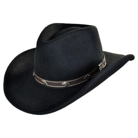 Black Leather Hat Bands at Village Hat Shop 1738c39f2ba8