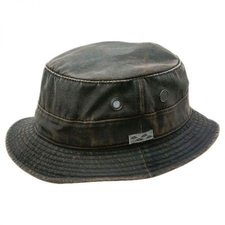 Weathered Cotton Bucket Hat alternate view 1