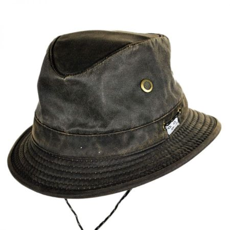 Conner Weathered Cotton Hiker Bucket Hat