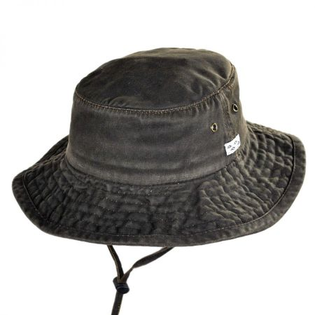 Conner Weathered Cotton Booney Hat