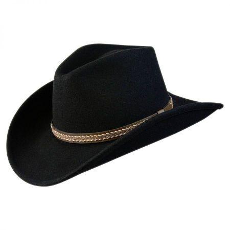 Conner Shapeable Wool Felt Western Hat