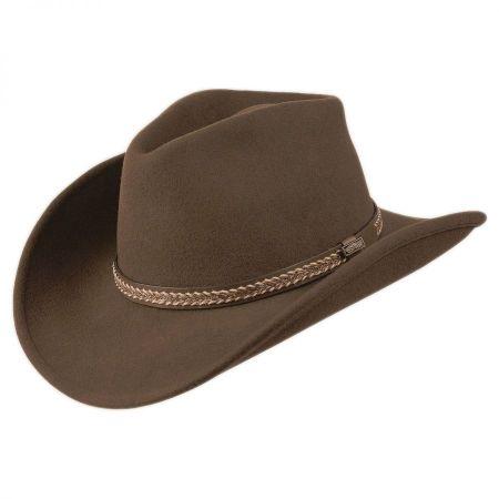 Shapeable Wool Felt Western Hat alternate view 4