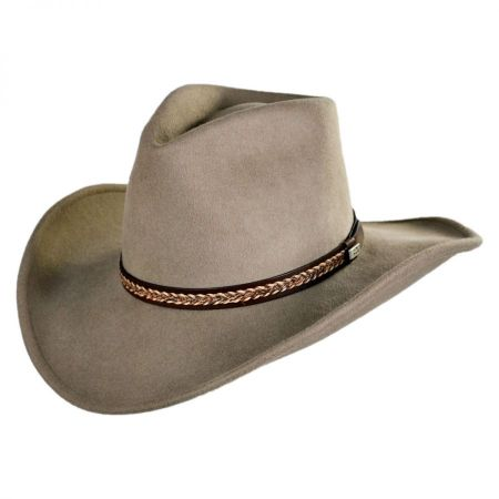 Conner Shapeable Wool Felt Western Hat