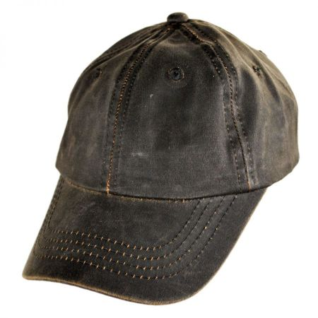 Conner Weathered Cotton Lo Pro Strapback Baseball Cap