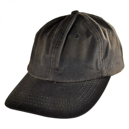 Conner Oilskin Cotton Lo Pro Strapback Baseball Cap Dad Hat