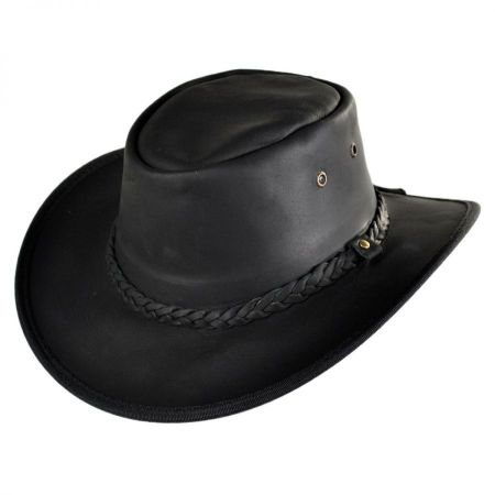 Conner Leather Outback Hat