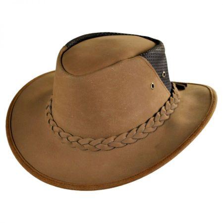 Conner Down Under Leather Breezer Hat