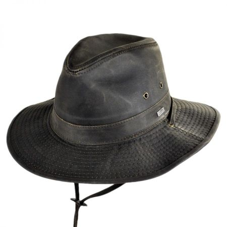 Weathered Cotton Outback Hat alternate view 10