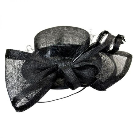 Conner Mini Top Hat Sinamay Straw Fascinator Hat