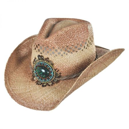 Conner Navajo Bead and Feather Western Hat