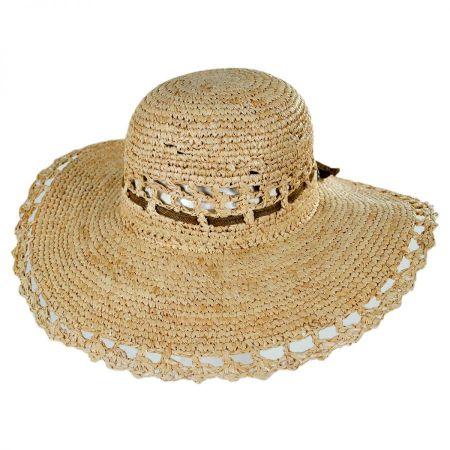 Conner Amy Raffia Straw Sun Hat