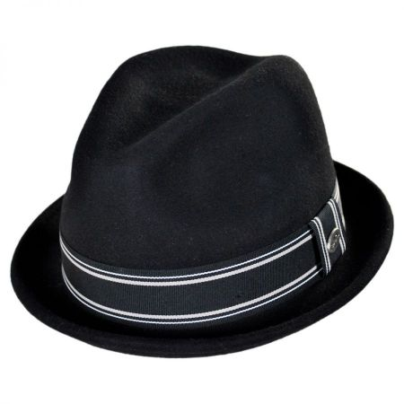Conner Street Car Wool Felt Fedora Hat