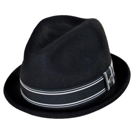Conner Street Car Wool Felt Fedora Hat