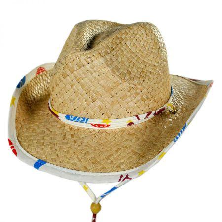 Conner Kids' Lil Bronco Straw Cowboy Hat