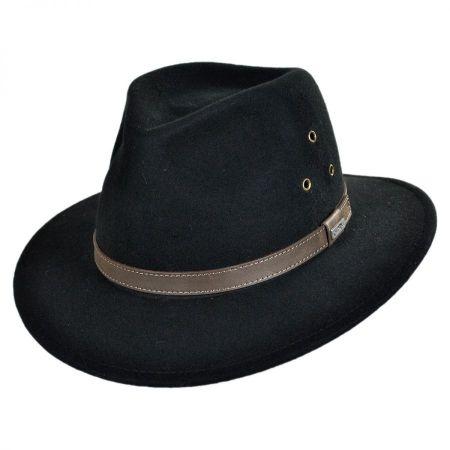 Conner Breckenridge Wool Felt Outback Hat