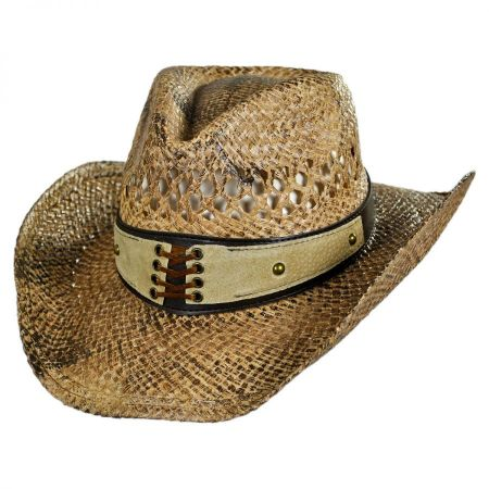 Conner Easy Going Straw Western Hat
