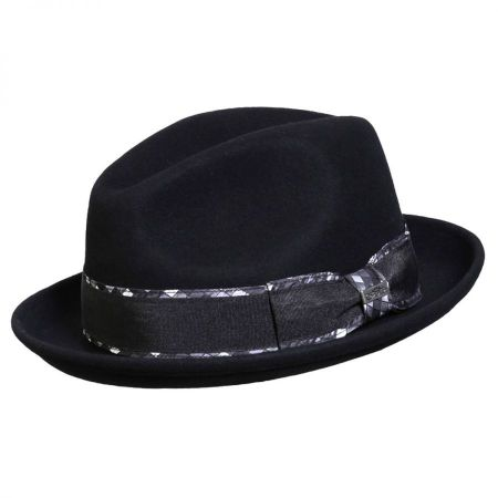 Jadson Wool Felt Fedora Hat alternate view 4