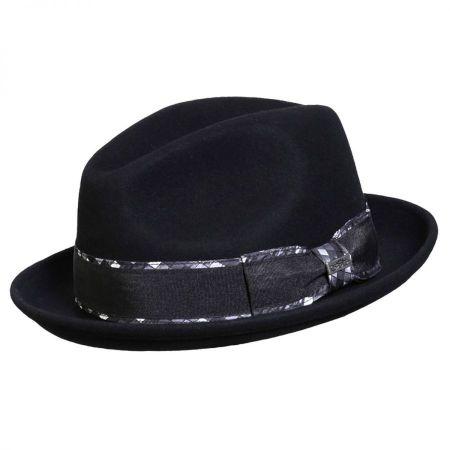 Jadson Wool Felt Fedora Hat alternate view 7