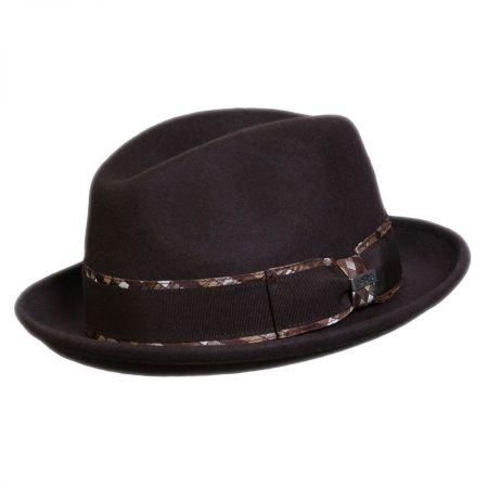 e8b5a13248c24 Fedora 2 Inch Brim at Village Hat Shop