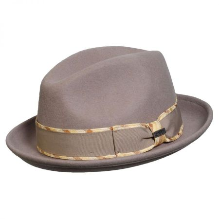 Jadson Wool Felt Fedora Hat alternate view 3