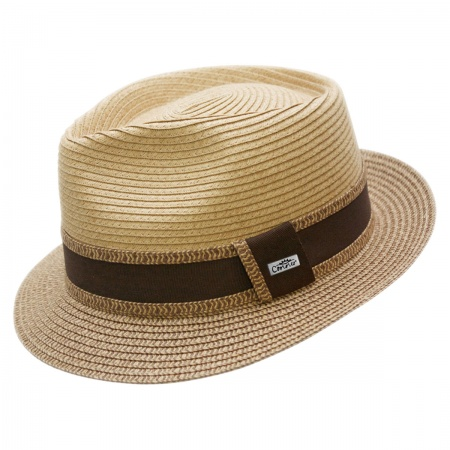 Conner Madeira Beach Straw Fedora Hat
