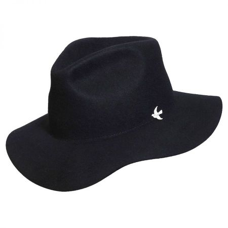 Night Cap Range Wool Felt Fedora Hat