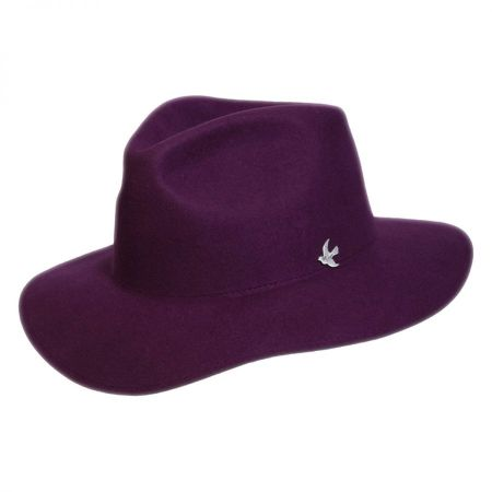 Night Cap Range Wool Felt Fedora Hat alternate view 2