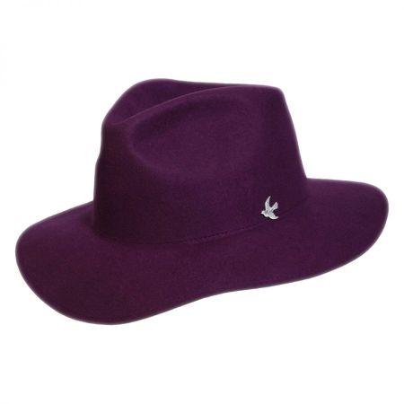 Conner Night Cap Range Wool Felt Fedora Hat