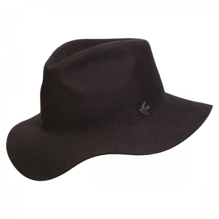 Night Cap Range Wool Felt Fedora Hat