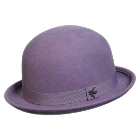 Conner St. George Wool Felt Bowler Hat