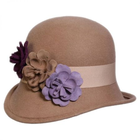 Country Garden Wool Felt Cloche Hat alternate view 3