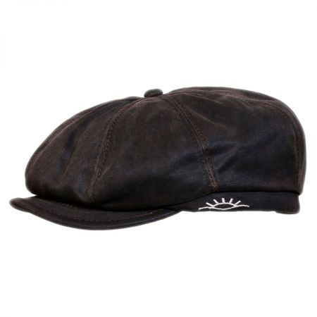 Conner Brent Weathered Cotton Newsboy Cap