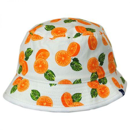 Keds Citrus/Dot Reversible Bucket Hat
