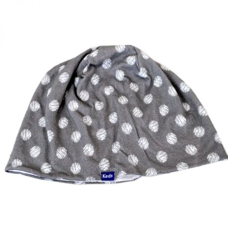 Keds Scribble/Dot Drizzle Cotton Beanie Hat