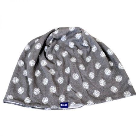 Keds Scribble/Dot Drizzle Cotton Beanie Hat
