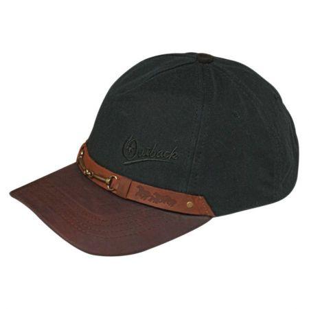 Outback Trading Company Equestrian Cotton Oilskin Baseball Cap