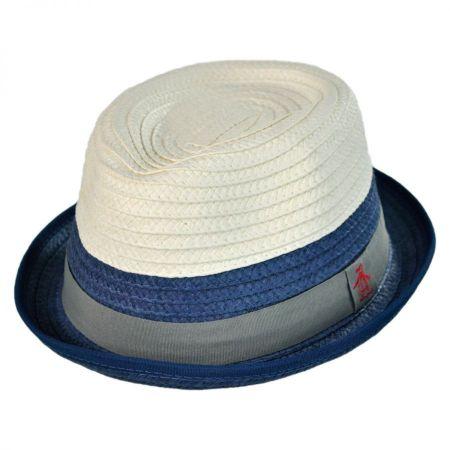 Penguin Hope Toyo Straw Trilby Fedora Hat