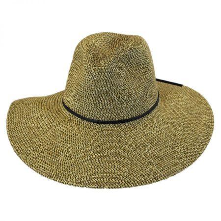 Sancho Toyo Straw Fedora Hat alternate view 1