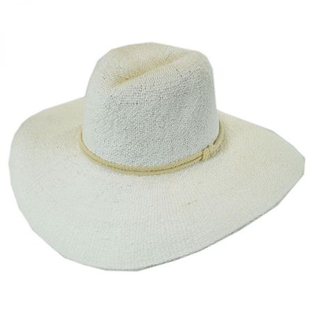 Praia Toyo Straw Fedora Hat alternate view 1