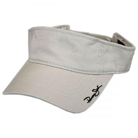 Panama Jack Garment Washed Cotton Sport Visor