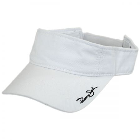 Panama Jack Garment Washed Cotton Sport Visor