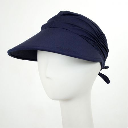 Ruched Fabric Pool Visor alternate view 5