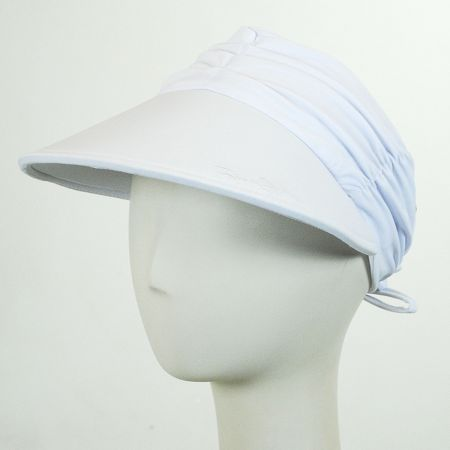 Ruched Fabric Pool Visor alternate view 3