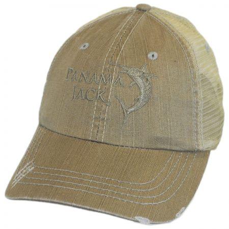Marlin Mesh Trucker Adjustable Baseball Cap alternate view 1