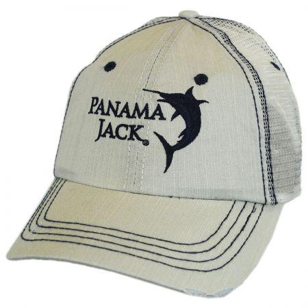 Panama Jack Marlin Mesh Trucker Adjustable Baseball Cap